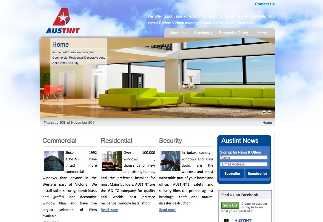 Austint Website, Australia