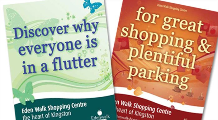 Eden Walk Shopping Centre Posters