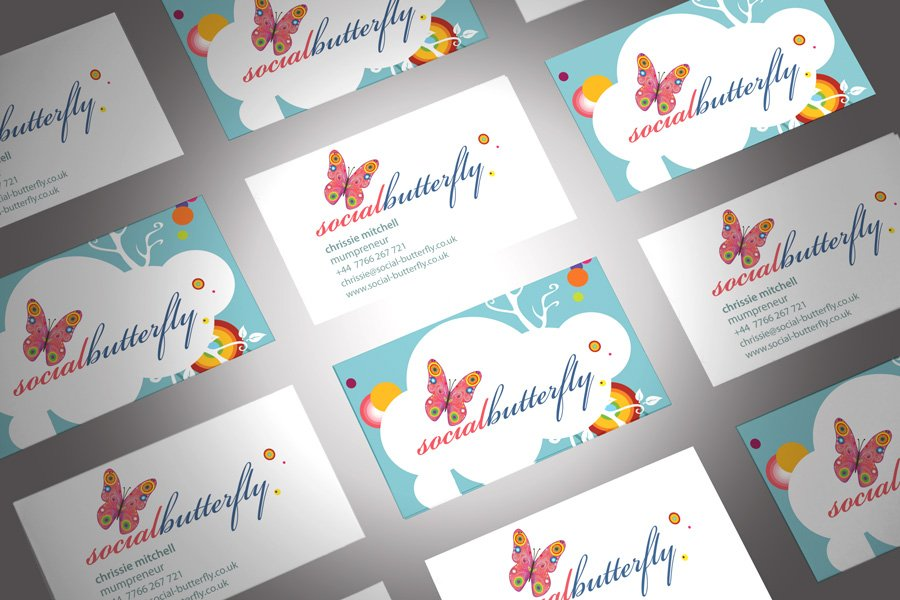 Exelent Butterfly Business Cards Ensign - Business Card Ideas ...
