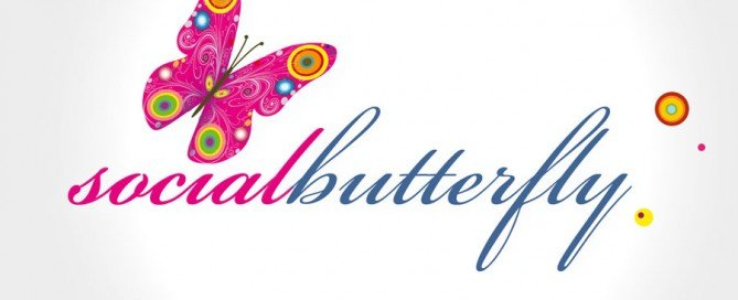 Social Butterfly new logo design by hbcreativity.com